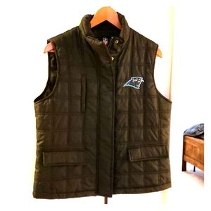 Carolina Panthers Puffer Vest